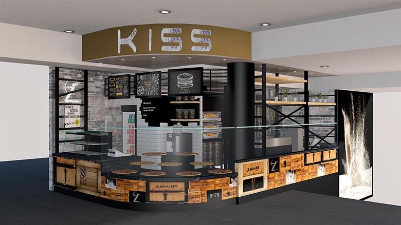 kiss laden design