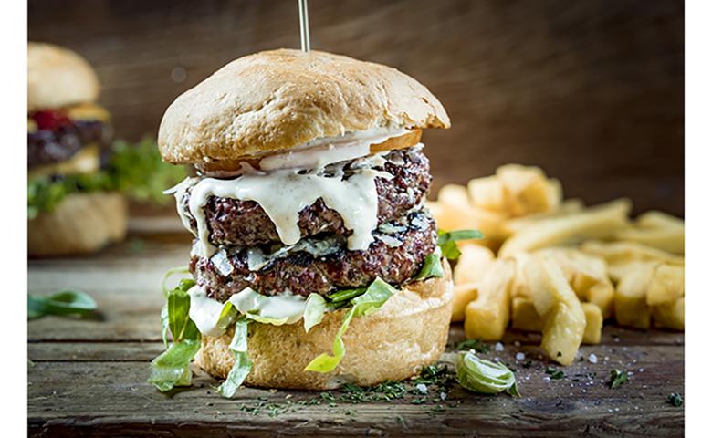 ruffs burger nl foto