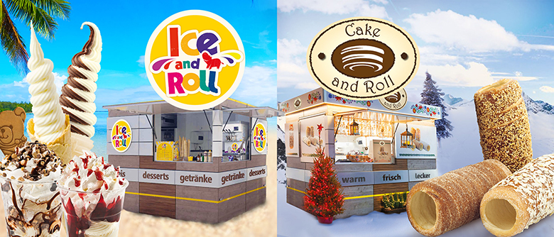 ice and roll cake and role newsletter header